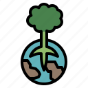earth, planet, save, tree