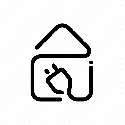 Ecology, electric, electricity, energy, house, power icon - Download on Iconfinder