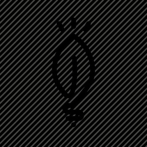 energy, green, light, lightbulb, power icon