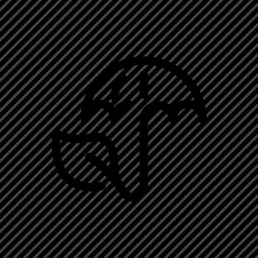 protection, security, umbrella, weather icon