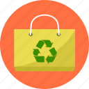 bag, basket, biodegradable bag, cart, eco, environment, shopping icon