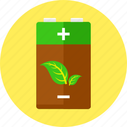 battery, bio energy, ecology, electricity, energy, environment, power icon
