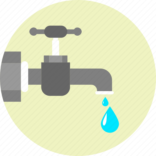 bio, clean, drop, ecology, pure water, tap, water icon