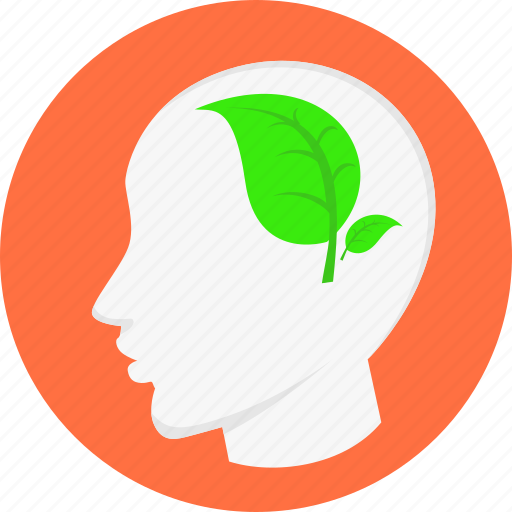 Thinking, brainstorm, eco, ecology, environment, head, healthy icon - Download on Iconfinder