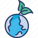 earth, ecology, green, nature, planet, save, world icon
