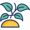 ecology, growing, growth, nature, plant, science, sprout icon