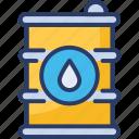barrel, energy, fuel, oil, oil barrel, oil drum, petroleum icon