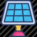 energy, house, light, panel, power, solar, system icon