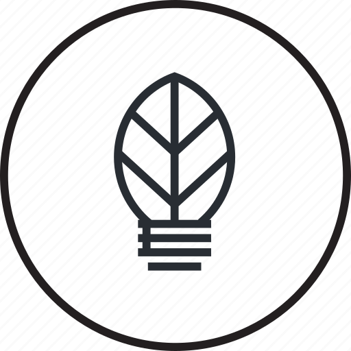 ecology, energy, green, line, nature, power, renewable icon