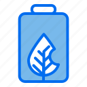 energy, battery, leaf, ecology