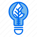 lightblub, leaf, electricity, ecology
