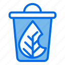 trash, recycle, leaf, ecology