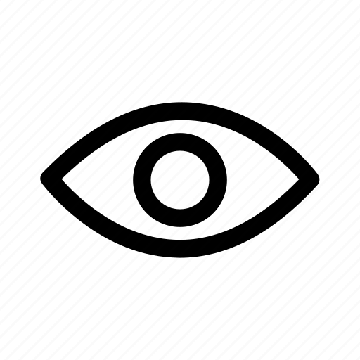 eye, nature, view, viewpoint icon