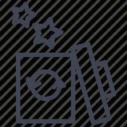 bin, dustbin, recycle, recycling, remove, trash icon