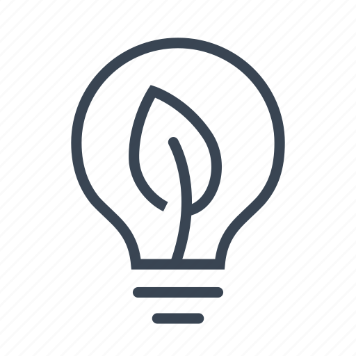 eco, ecology, electricity, green, lightbulb icon
