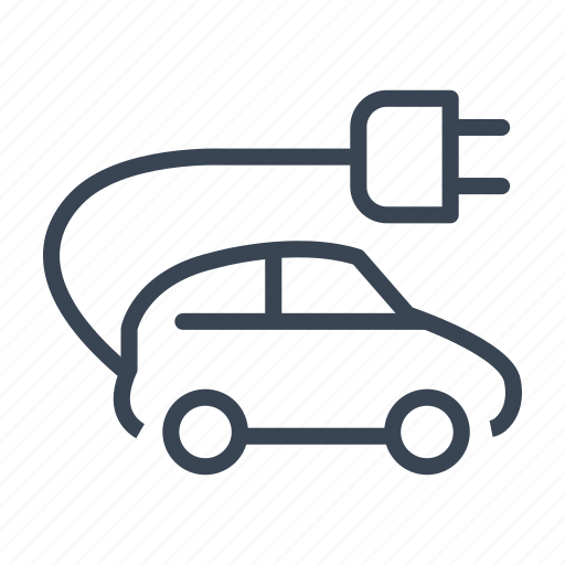 car, ecology, electric, transportation icon