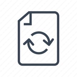 ecology, paper, recycle, recycling icon