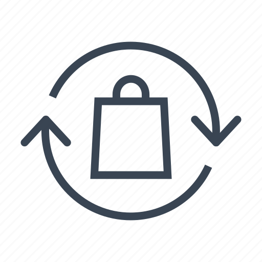 Bag, ecology, recycle, recycling icon - Download on Iconfinder