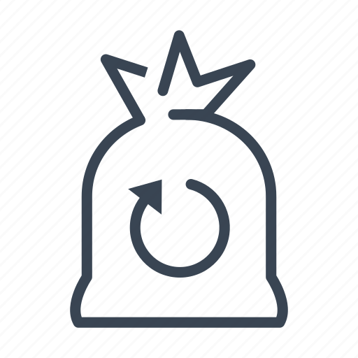 bin, ecology, recycle, recycling, trash icon