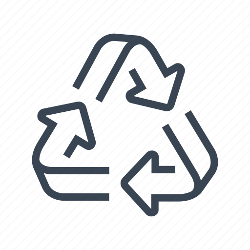 ecology, recycle, recycling, sign icon