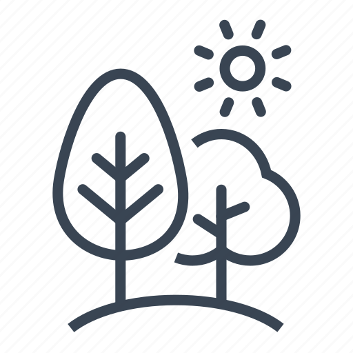 ecology, forest, nature, tree, trees icon