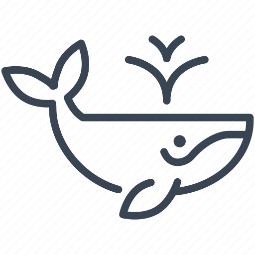 Animal, ecology, ocean, sea, whale icon - Download on Iconfinder