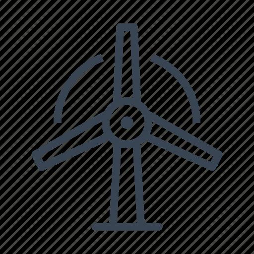 ecology, energy, mill, turbine, wind icon