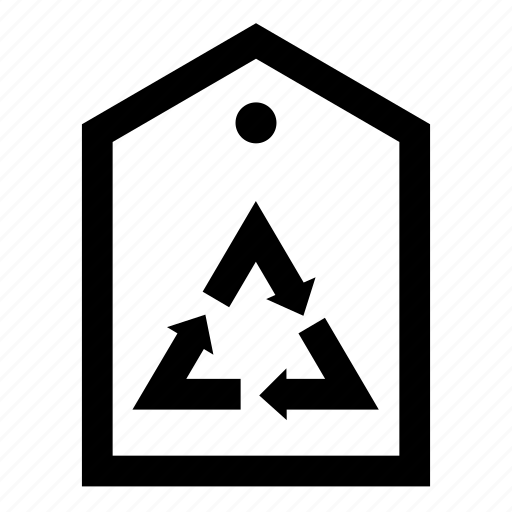 eco, ecology, ecology tag, energy saving, environment, recycle tag icon