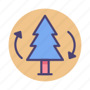 afforestation, forest, jungle, nature, tree icon
