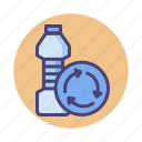 biodegradable, bottle, plastic, recycle, reduce, reuse icon