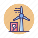 biodiesel, biodiesel engine, engine, wind energy, wind farm, windmill icon