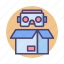 box, cardboard, package icon