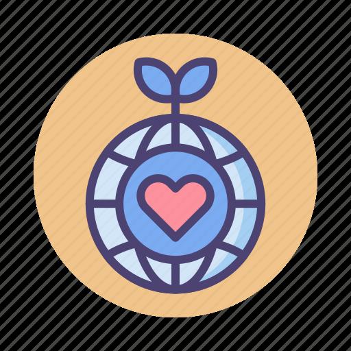 eco, eco friendly, friendly icon