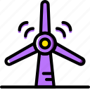 ecology, enviorment, nature, turbine, wind icon
