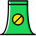 ecology, enviorment, nature, nuclear, power icon