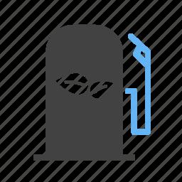 eco, fuel, gasoline, oil, pump, sign, station icon