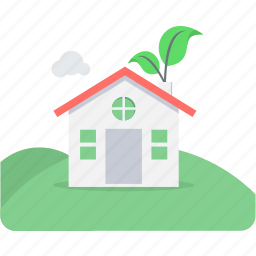 eco, ecology, environment, green, green house, house icon