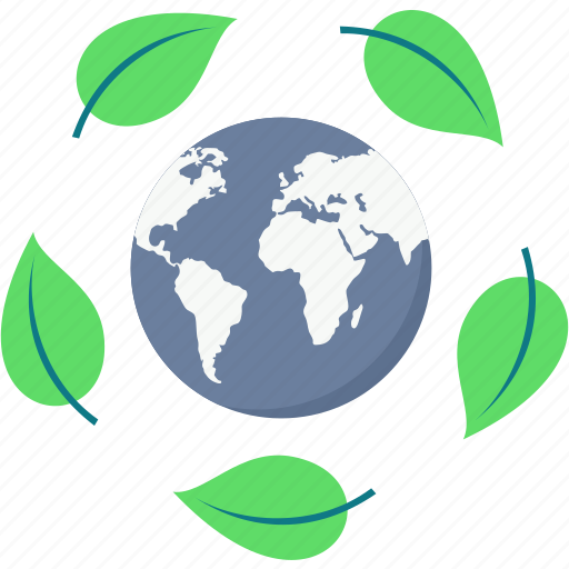 ecology, global, green, nature, save earth icon