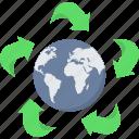 earth, green, bio, global, planet, plant