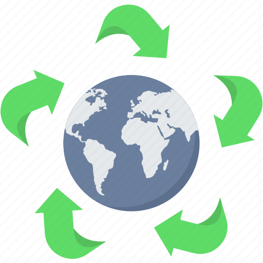 bio, earth, global, green, planet, plant icon