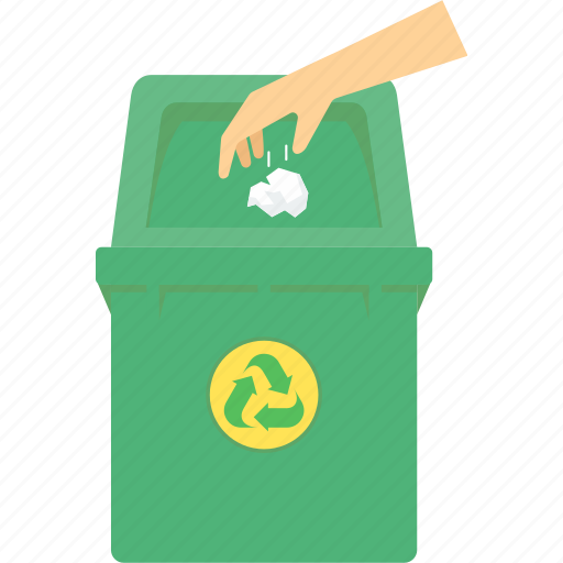 bin, dustbin, environment, guardar, recycle, save, trash, waste icon