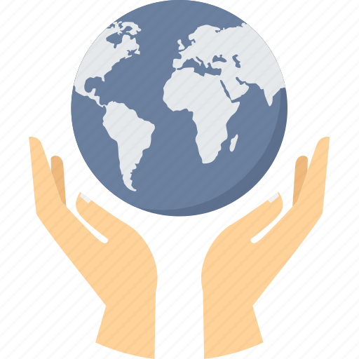 earth, global, globe, hand gesture, planet, save, world icon