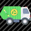 managment, waste, clean, environment, recycle, trash, van