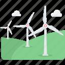 energy, wind, ecology, generator, turbine, windmill