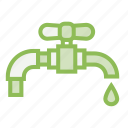 ecology, ecosystem, environment, environmentalism, faucet, tap, water icon