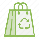 bag, ecology, ecosystem, environment, environmentalism, paper icon