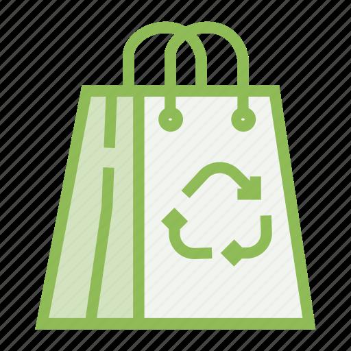 bag, ecology, ecosystem, environment, environmentalism, paper icon