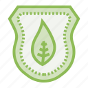 ecology, ecosystem, environment, environmentalism, safe, shield icon