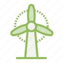 ecology, ecosystem, environment, environmentalism, generator, windmill icon