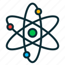 atom, chemistry, ecology, molecule, nuclear icon